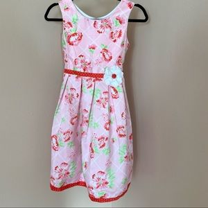Jona Michelle Floral Pink Girl dress